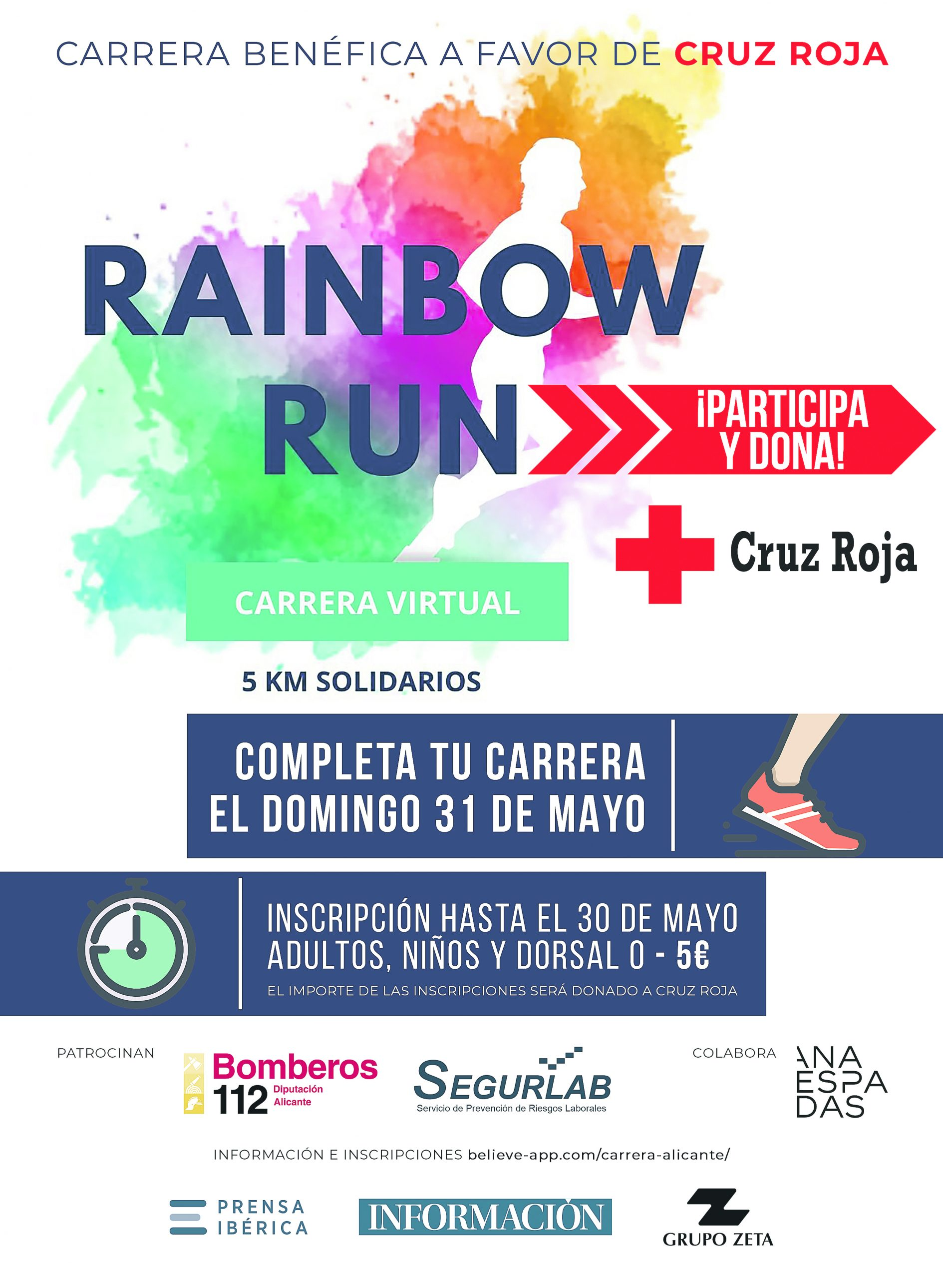 Rainbow Run Alicante