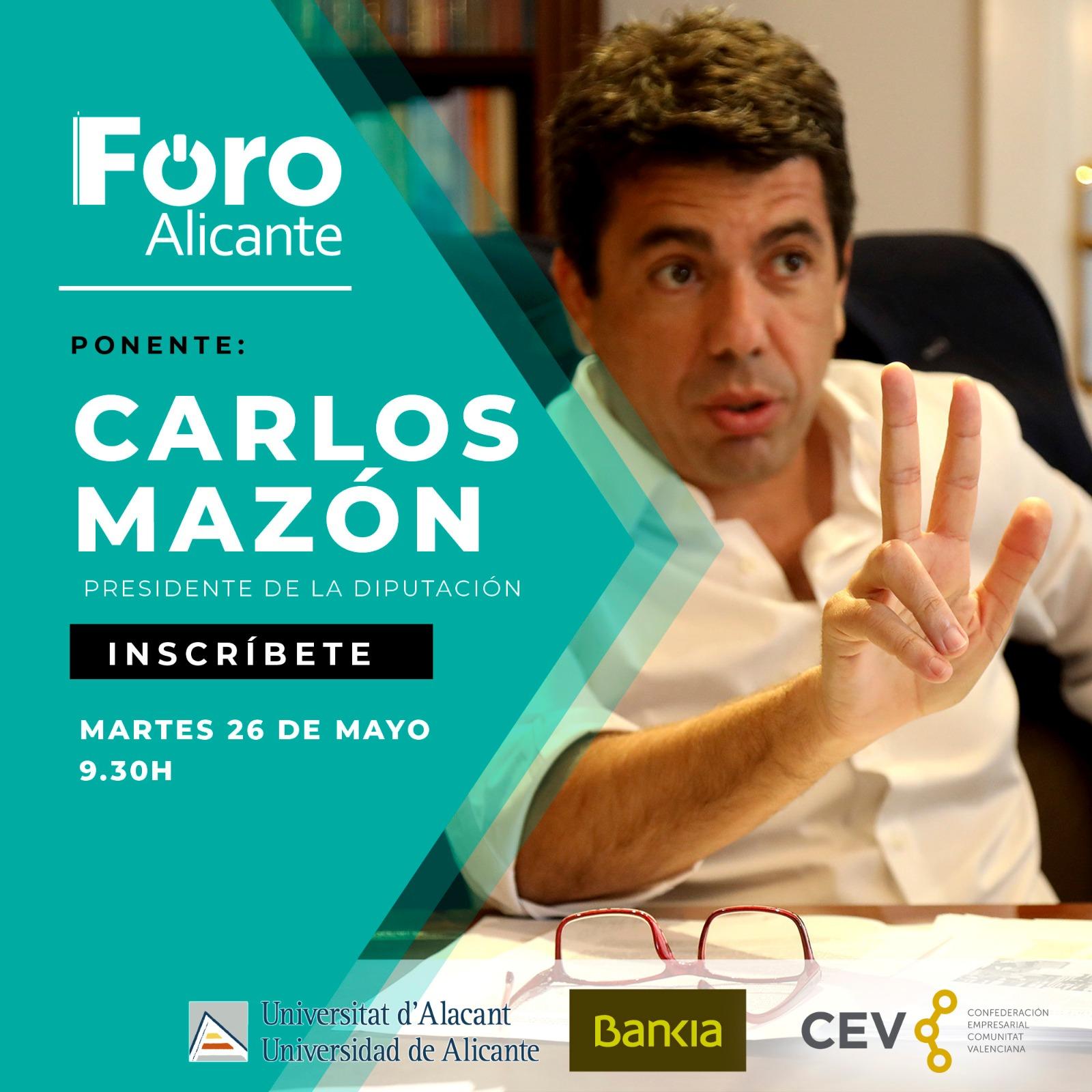Foro Club Información. Ponente: Carlos Mazón