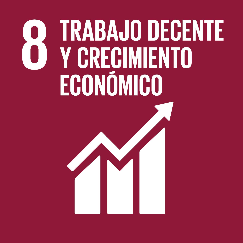 Objetivo ODS número 8: Trabajo decente y crecimiento económico