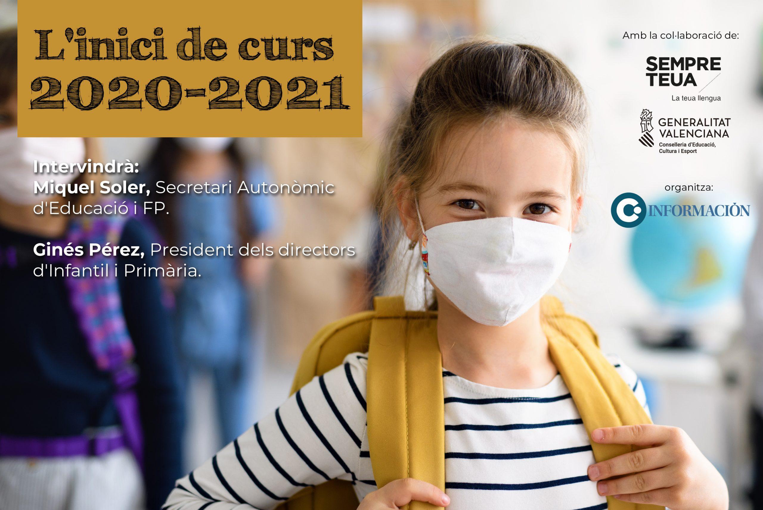 CONVERSES DE FUTUR: L'inici de curs 2020-2021