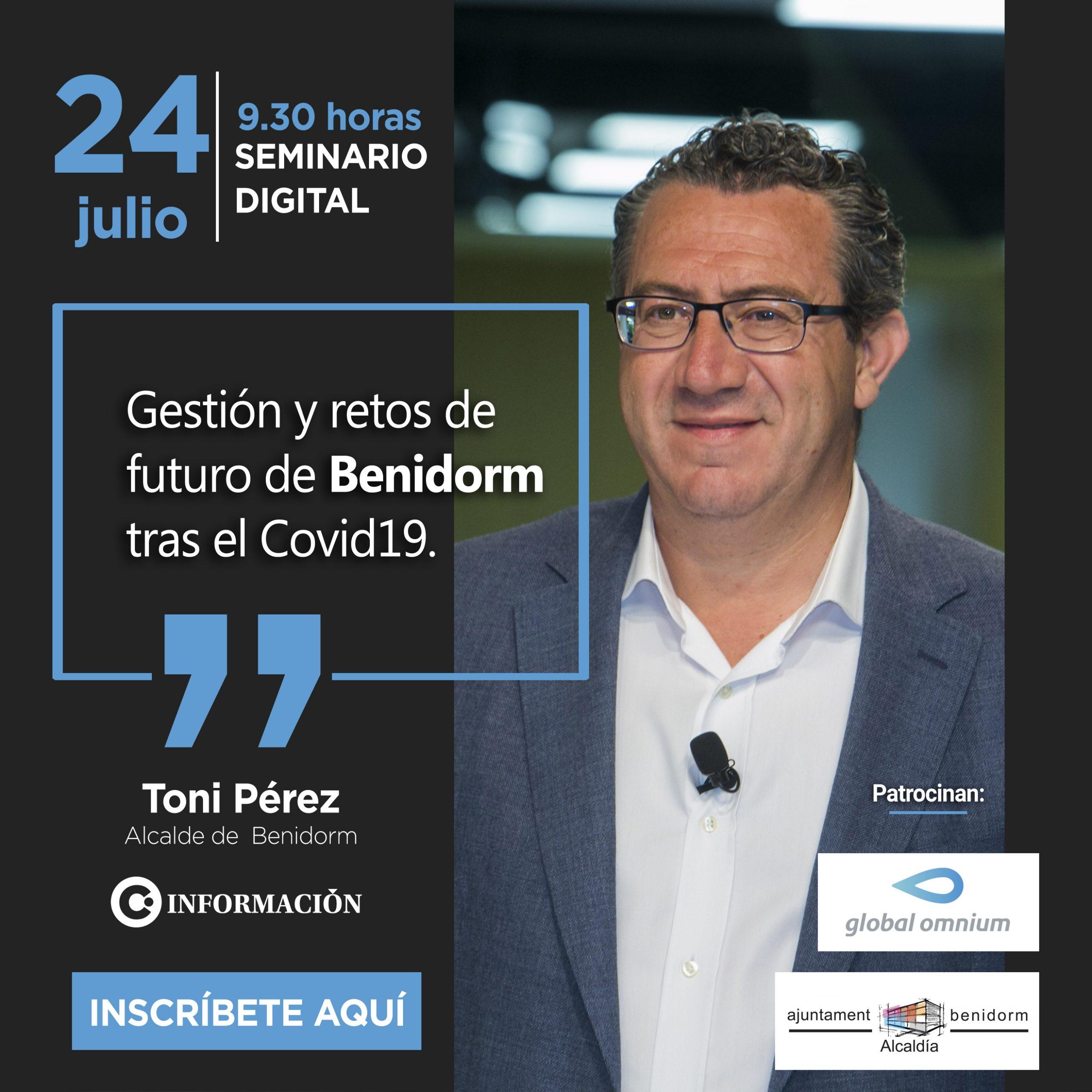 Foro Municipal de Benidorm con Toni Pérez