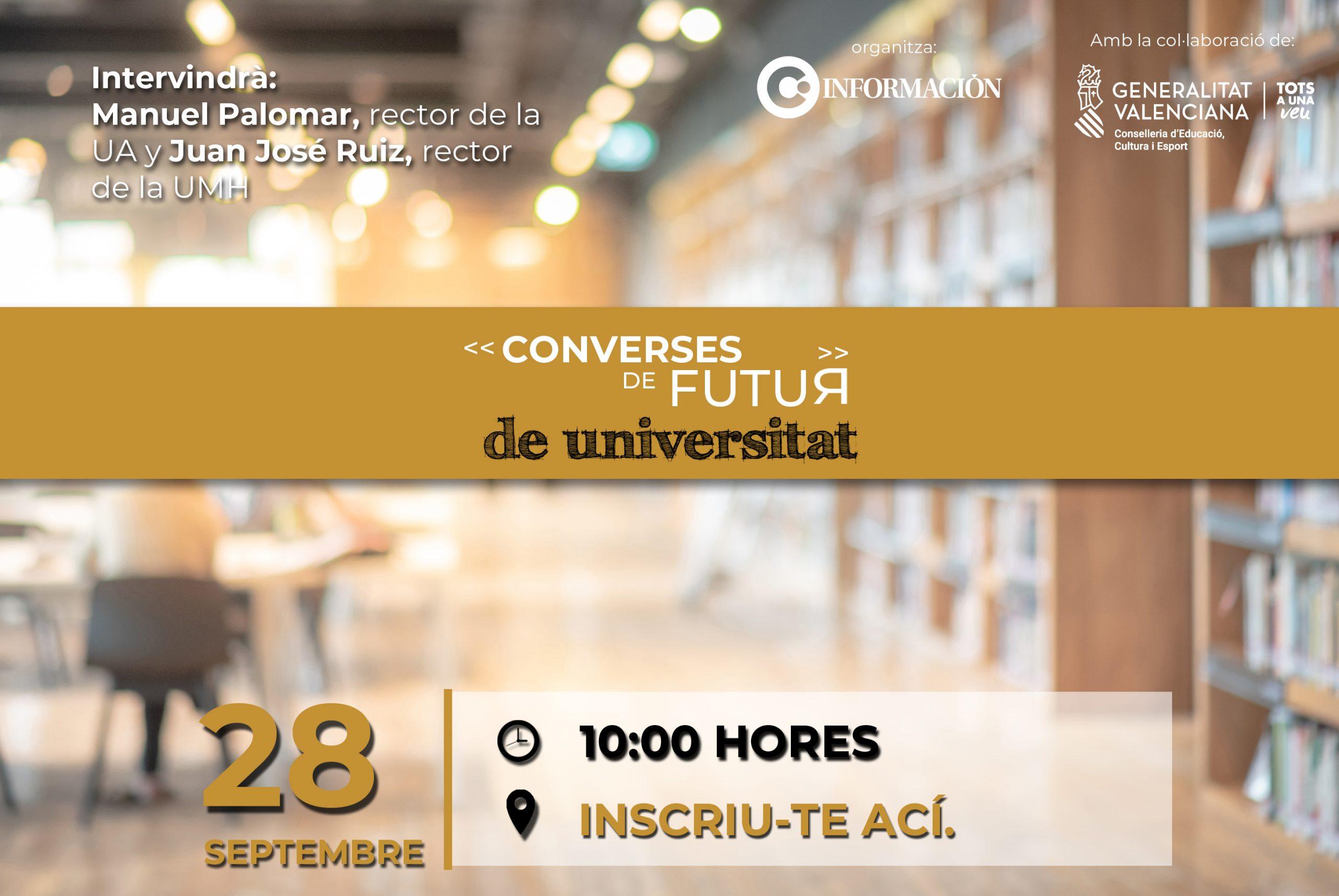 CONVERSES DE FUTUR DE UNIVERSITAT