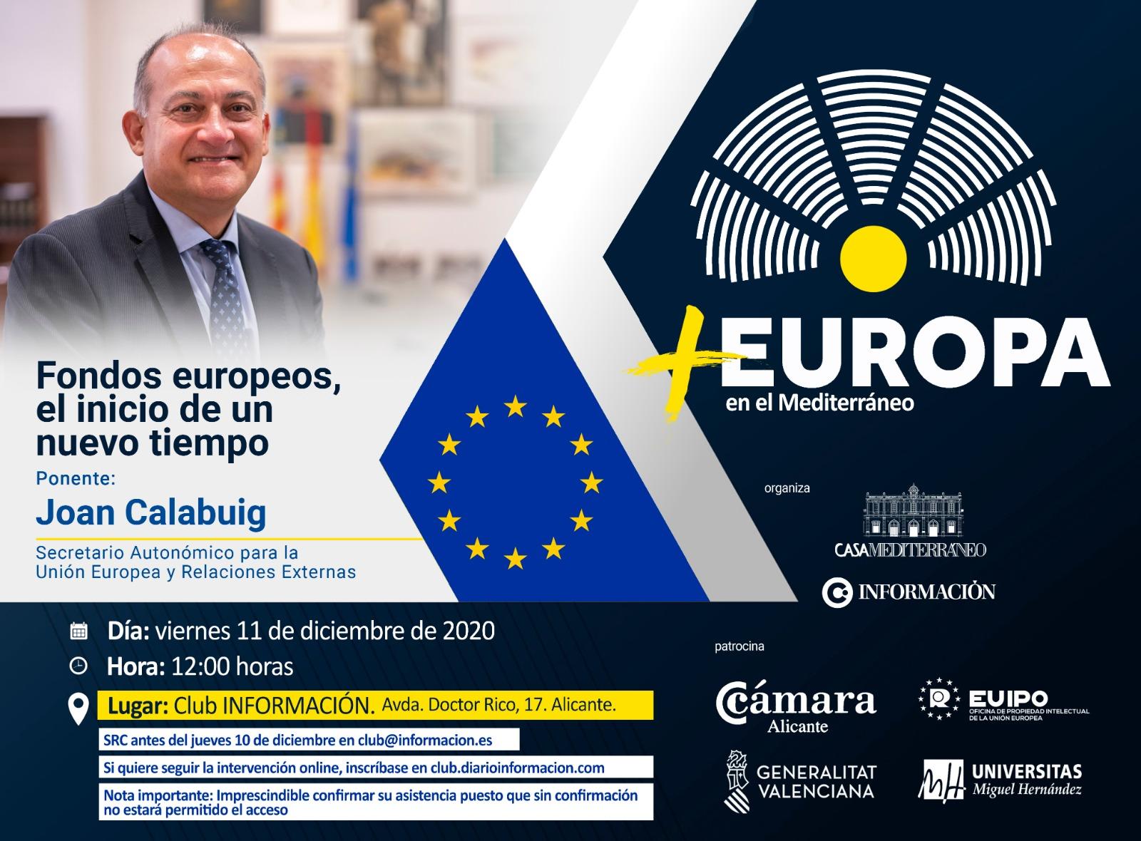+ EUROPA con Joan Calabuig