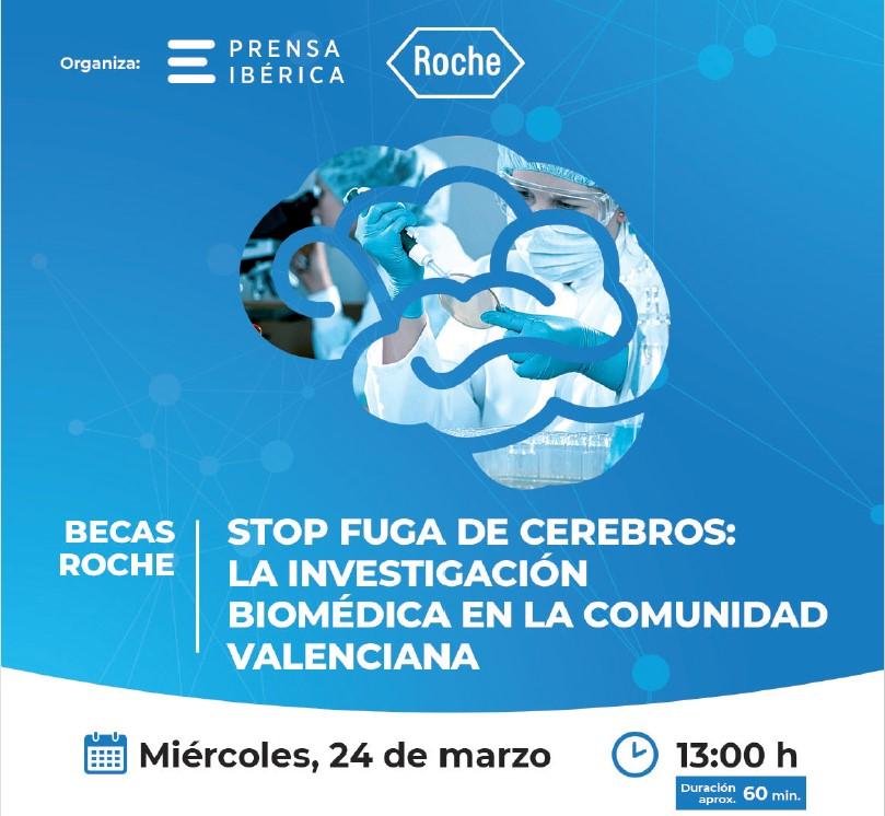 BECAS ROCHE / STOP FUGA DE CEREBROS: LA INVESTIGACIÓN BIOMÉDICA EN LA COMUNIDAD VALENCIANA