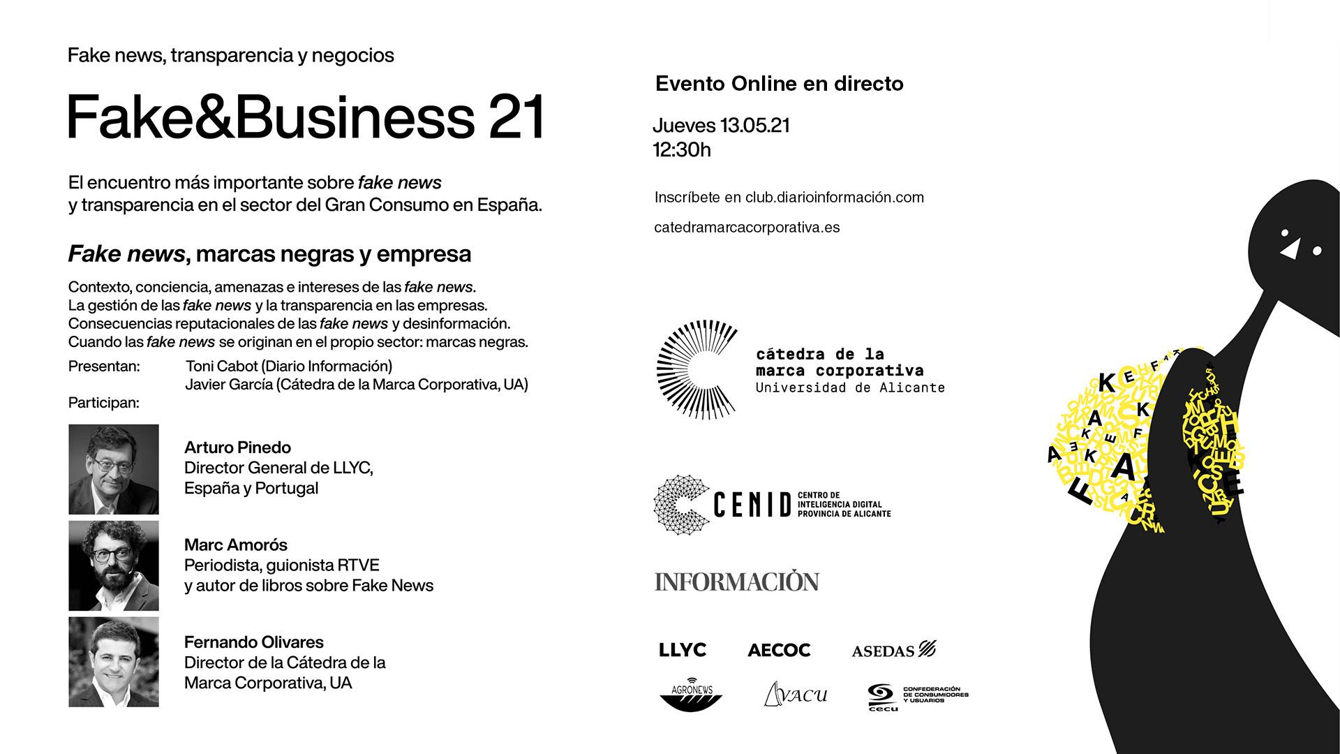 FAKE&BUSINESS 21 – Fake news, transparencia y negocios